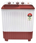 (Renewed) White Westinghouse (Trademark By Electrolux) 7 Kg Semi-Automatic Top Loading Washing Machine (CSW7000, Maroon)
