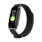 OPPO Smart Band with Extra Sport Strap – Continuous Blood Oxygen Saturation Monitoring(spO2, Up to 12 Days Battery Life, 1.1″ AMOLED Display, 5ATM Water Resistant,Supports Android and iOS(Black)