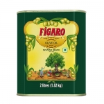 Figaro Olive Oil, 2L All Cooking Healthy Olive Oil Durable Tin Packaging