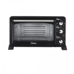 Midea MEO-25BEX1 25L Oven Toster Grill, Black