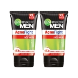 Garnier Men Acno Fight Facewash – For Pimple And Acne Prone Skin, 150gm (Pack of 2)
