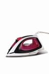 Pigeon by Stovekraft Vigour Max Steam Iron Press Box. Automatic Electric Iron for Wrinkle Free Clothes (1600 Watt, White, Red)