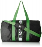United Colors of Benetton Polyester 50 cms Black Green Travel Duffle (0IP6DFBGMP02I)
